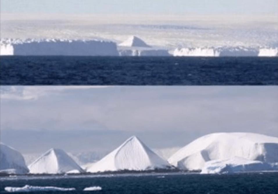 8 南極で古代の巨大都市遺跡がついに発見される?! 動画