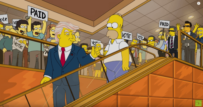 Trumptastic2-700x370 15年前に「シンプソンズ」が ドナルド・トランプ大統領を予言していた【米大統領選】 動画